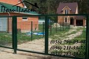 забор из сетки с полимерным покрытием Днепропетровск
