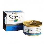 Schesir ТУНЕЦ в собственном соку (Tuna Natural Style) влажный корм.