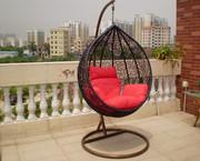 Качели садовые - кресло кокон Гарди.