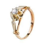 Продам недорого золотое кольцо с бриллиантом