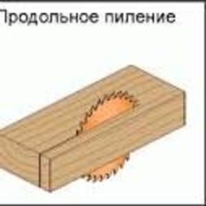 Дисковые пилы СМТ для продольного пиления древесины