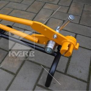 Кронштейногиб для гибки держателей водостока (Польша)