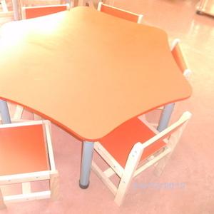 Столы шестигранные на регулирующихся ножках - производство - доставка