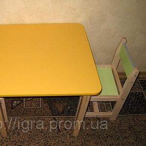 Стол детский деревянный цветной - производство Днепропетровск