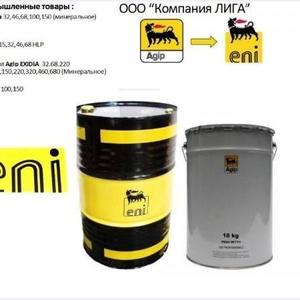 масла для направляющих скольжения Castrol, Mobil, Shell, Agip/Eni