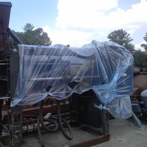 Установка  для изготовления форм по газифицируемым (или  выжигаемым )
