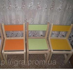 Производство детских стульев,  столов и любой мебели для детских садов