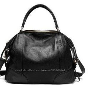 сумка женская кожаная с ремешком