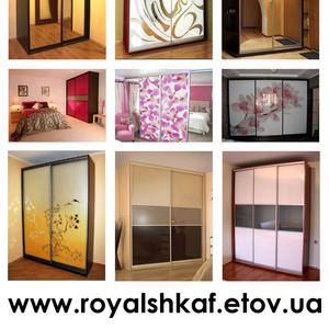 Изготавливаем шкафы-купе высокого качества на заказ любых размеров