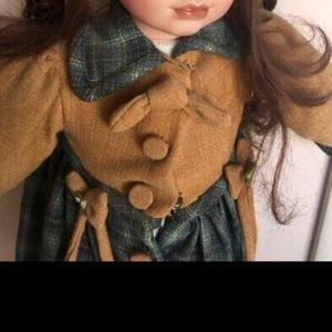 Фарфоровая кукла 60 см