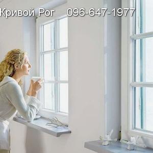 Окна Кривой Рог. Металлопластиковые,  Французские балконы