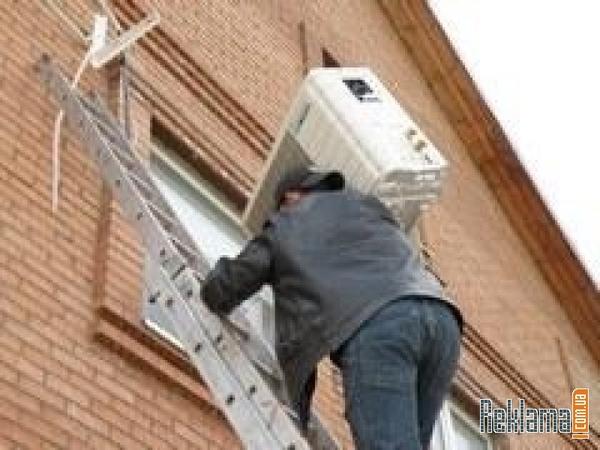 Установка кондиционеров,  демонтаж,  монтаж кондиционеров в Днепропетров 2