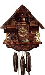 механические часы ручной работы с кукушкой