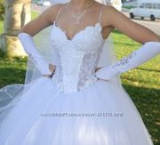 продам  красивенькое свадебное платье