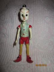 Продам  куклу Буратино (колкий пластик СССР)
